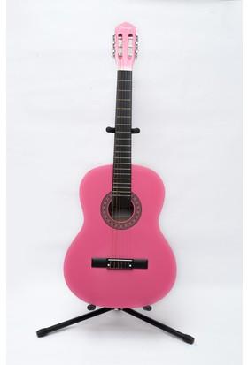 Simge Klasik Gitar Pembe 4/4 Tam Boy