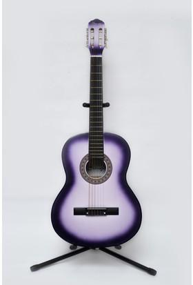 Simge Klasik Gitar Mor 4/4 Tam Boy