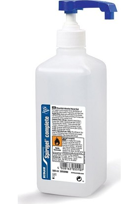 Ecolab Spirigel Complete El Dezenfektanı 500 ml