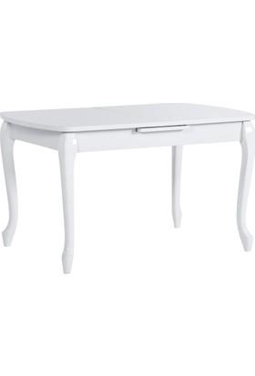 Azzore En866 Lükens Beyaz Mutfak Masası