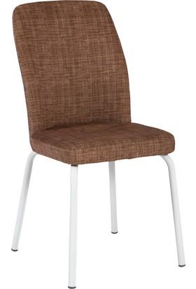 Azzore Kahverengi Mutfak Sandalyesi