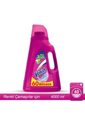 Vanish Kosla Leke Çıkarıcı Sıvı 4000ml Renkliler için