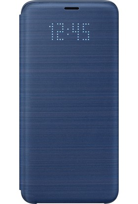 Samsung S9 LED View Kılıf Mavi - EF-NG960PLEGWW