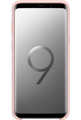 Samsung S9 Silicone Kılıf Pembe - EF-PG960TPEGWW