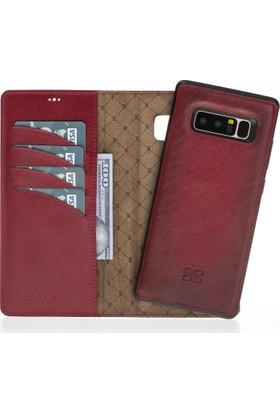 Bouletta Magic Wallet Deri Telefon Kılıfı - Note 8 - V4EF Kırmızı