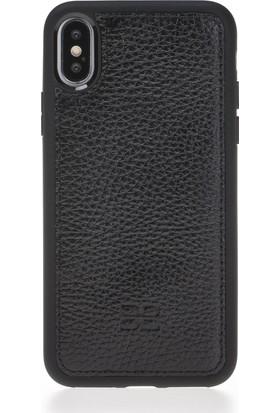 Bouletta Magic Wallet Deri Telefon Kılıfı - iPhone X - FL01 Siyah