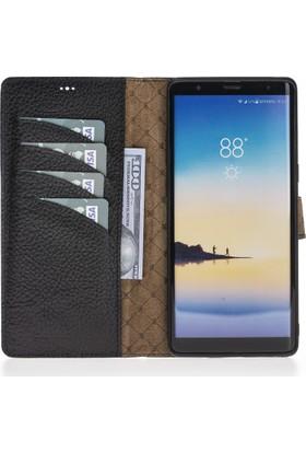 Bouletta Magic Wallet Deri Telefon Kılıfı - Note 8 - FL01 Siyah