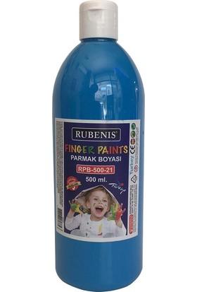 Rubenis Parmak Boyası 500 ml. Mavi RPB-500-21