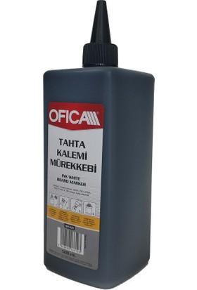 Ofica Tahta Kalemi Mürekkebi 500 ml. Siyah (Büyük Boy)