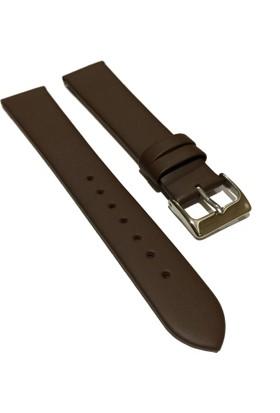 Morello Soft Mat İnce Hakiki Deri Saat Kayışı 20X18Mm Kahverengi