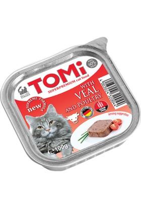 Tomi Alu Dana Etli - Kanatlı Veal - Poultry 100 Gr x 32 Adet