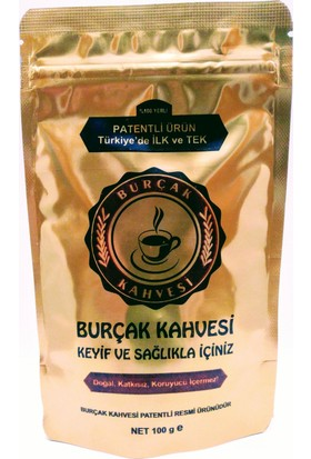 Burçak Kahvesi 100 gr Kilitli Paket