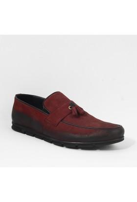 Daypa 613 Klasik Erkek Ayakkabı Bordo
