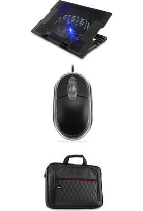 Addison ANC-58A Standlı Notebook Aksesuar Paketi (Soğutucu + Çanta + Mouse)