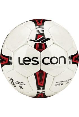 Lescon La-2558 Kırmızı Futbol Topu Crystal 5 Numara