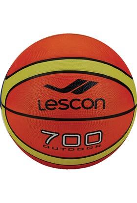 Lescon La-2522 Turuncu Sarı Basketbol Topu 12 Panel 5 Numara