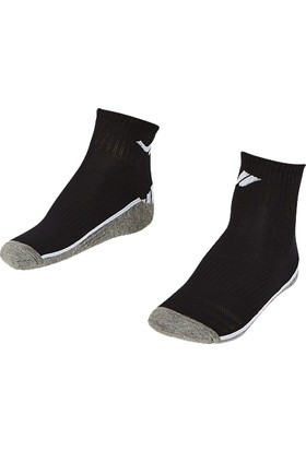 Lescon La-2194 Beyaz Erkek Patik Çorap 36-40 2'Li