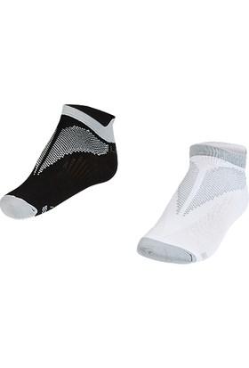 Lescon La-2196 Gri Erkek Patik Çorap 30-35 2'Li