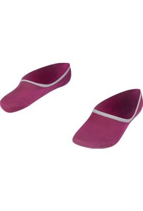 Lescon La-2166 Böğürtlen 2'li Spor Çetik Çorap 36-40