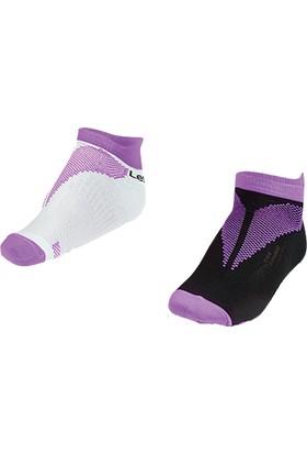 Lescon La-2191 Mor Erkek Spor Çorabı 36-40