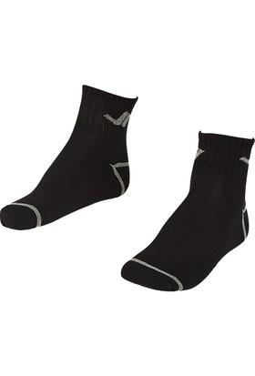 Lescon La-2192 Siyah Erkek Tenis Çorap 36-40 2'Li