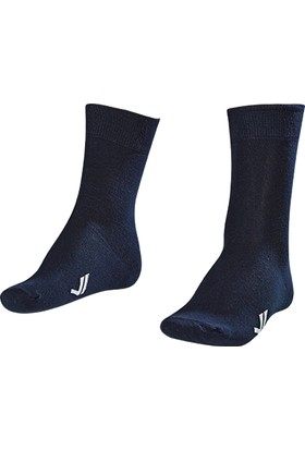 Lescon La-2186 Lacivert Erkek Klasık Çorap 40-45 2'Li