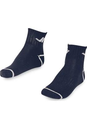 Lescon La-2192 Lacivert Erkek Tenis Çorap 36-40 2'Li