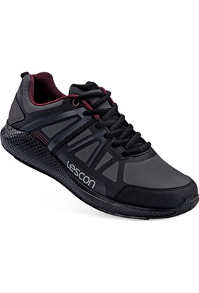 Lescon L-5023 Siyah Easystep Spor Ayakkabı