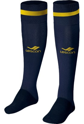 Lescon La-2172 Lacivert Sarı Erkek Futbol Çorabı 40-45