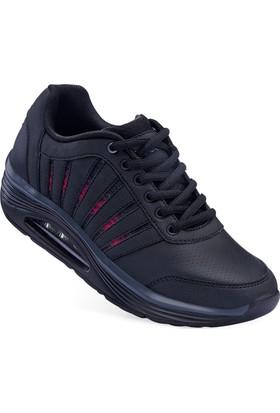 Lescon L-5122 Siyah Sneakers Ayakkabı 36-40