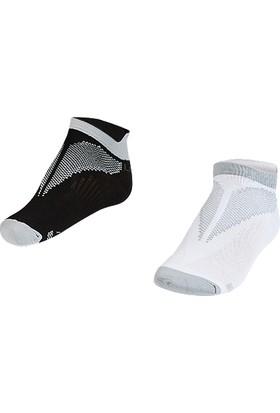 Lescon La-2196 Gri Erkek Patik Çorap 26-30 2'Li