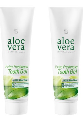 Lr Aloe Vera Extra Freshness Tooth Jel (Hassas Dişler İçin Diş Macunu) 2 Adet