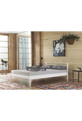 Unimet Manyas-S Çift Kişilik Metal Karyola 150x200 Beyaz