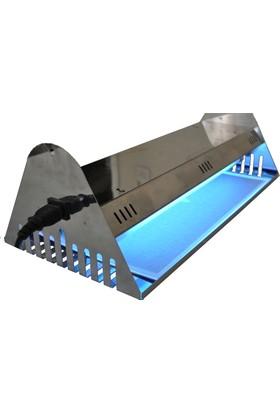 Killzone Duvara Tavana Askılı Sinek Tutucu Cihaz FTC 30 Eco Paslanmaz(Teflon Kaplı UV lambalı)