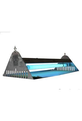 Killzone Tavana Askılı Sinek Tutucu Cihaz FTC 40 Paslanmaz (Teflon Kaplı UV lambalı)