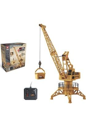 Canda Kablo Kumandalı Kule Vinç Oyuncak Km6820
