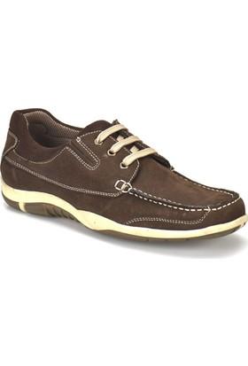 Panama Club 5076-N Kahverengi Erkek Deri Ayakkabı