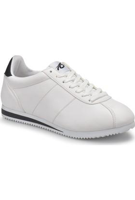 Torex Zeus Beyaz Siyah Erkek Sneaker