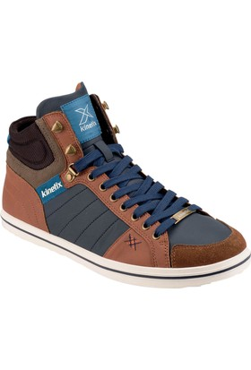Kinetix 1271342 Camel Lacivert Kahverengi Erkek Sneaker