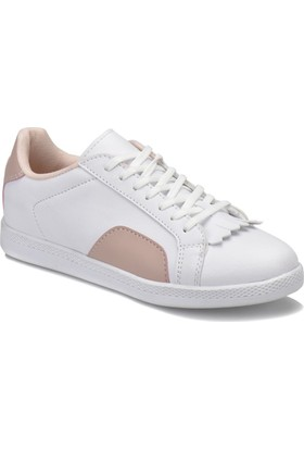 Art Bella Cs18108 Beyaz Pudra Kadın Sneaker