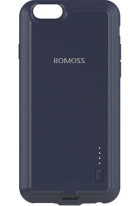 Romoss iPhone 6/6S 2000 mAh Şarjlı Powerbank Kılıf - Uzay Gri