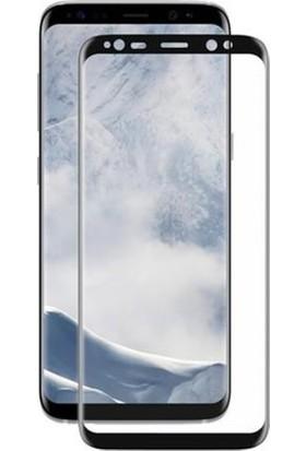Splat Samsung Galaxy S8 Kalkmaz Kavisli Ön Arka Ekran Koruyucu - Siyah