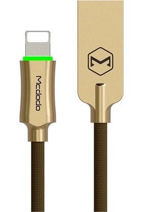 Mcdodo Apple Lightning MFI Lisans Akıllı Şarj&Data Kablosu - Kahverengi