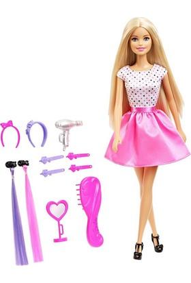 Mattel Barbie Bebek Kuaför Oyun Seti Saç Tasarım Seti