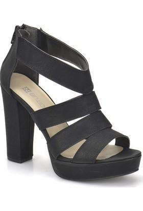 Butigo S1061 Siyah Kadın Ayakkabı
