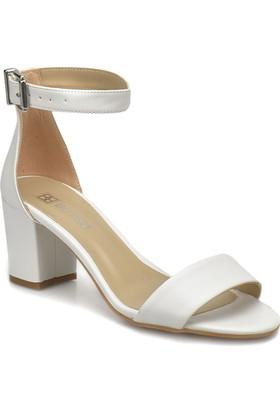 Butigo S1100 Beyaz Kadın Ayakkabı