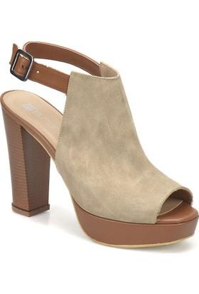 Butigo S1120 Vizon Kadın Ayakkabı