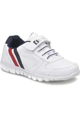 I Cool Demba Beyaz Lacivert Kırmızı Erkek Çocuk Sneaker