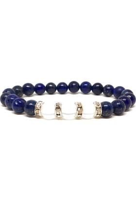 Bi'Bileklik Lapis Lazuli ve Kuvars Taşlı Bileklik