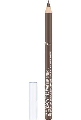 Rimmel London Brow This Way Pencil Fiber Medium